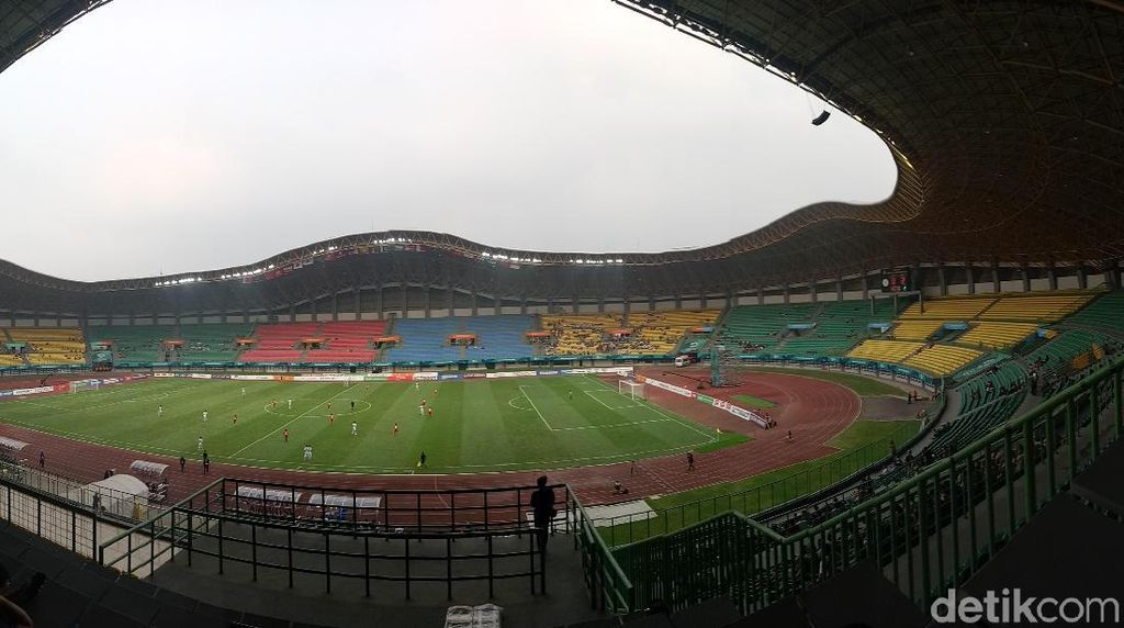 Beredar Video Wasit Diinjak di Stadion Patriot Bekasi, Ini Kata Kadispora