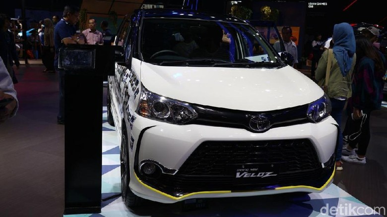 Toyota Veloz Foto: Dina Rayanti