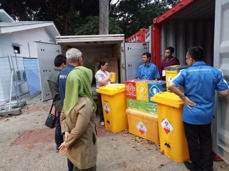 KLHK Bantu Tangani Limbah Medis dan Non-medis Asian Games 2018