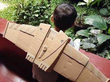 Nah, yang ini sayap-sayapan terinspirasi dari Toy Story. (Foto: Instagram @maliyanti)