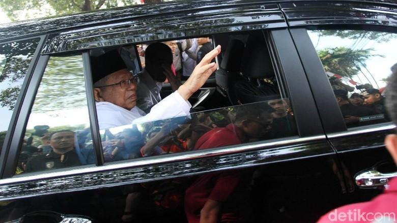 Soal Posisi di PBNU, Maruf Amin Serahkan ke Mekanisme Internal