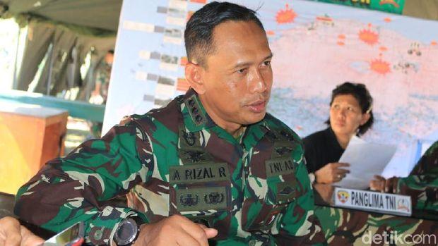 Dansatgas Penanggulangan Gempa Lombok, Kolonel Ahmad Rizal Ramdhani