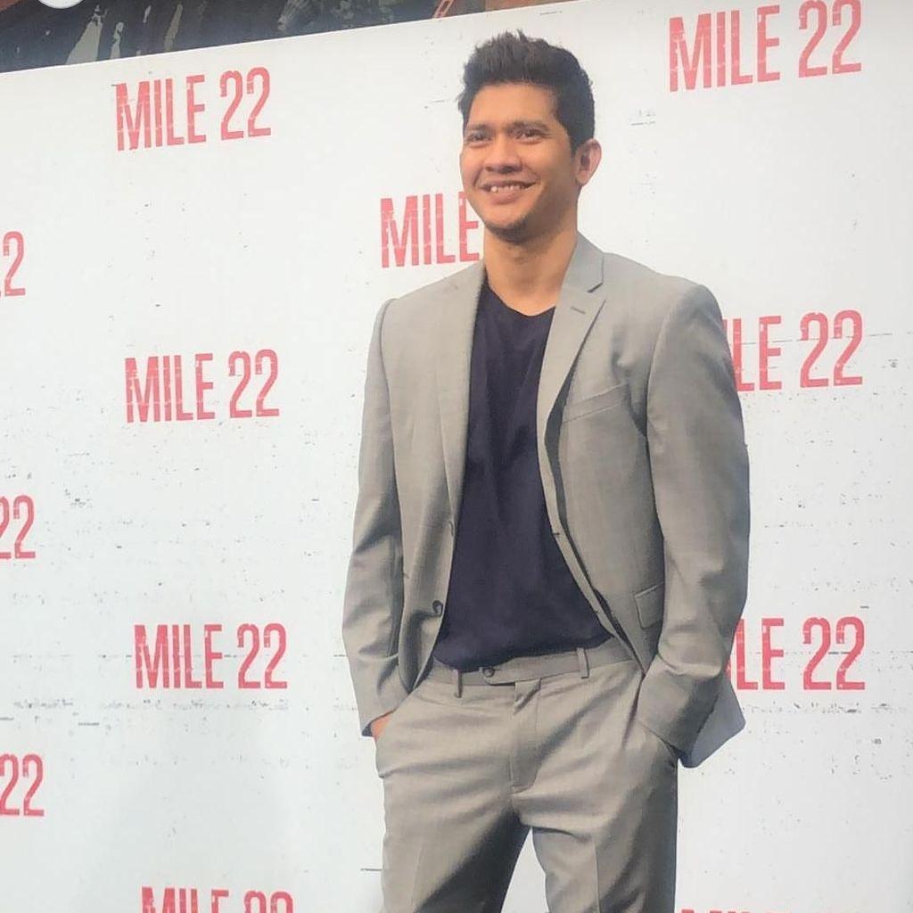 Bangga! Iko Uwais Disambut Riuh di Premiere Mile 22