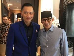 AHY dan Aher Jadi Kandidat Ketua Timses Prabowo-Sandiaga