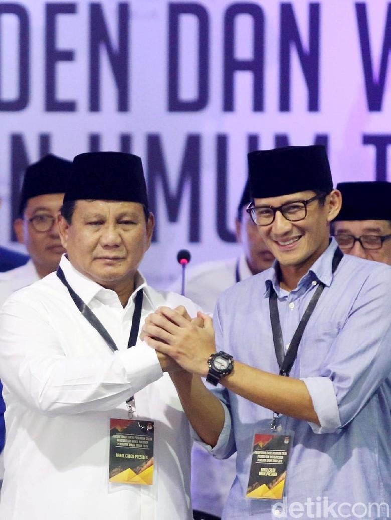 Jubir Prabowo-Sandi 2 Kali Lipat dari Jokowi-Maruf