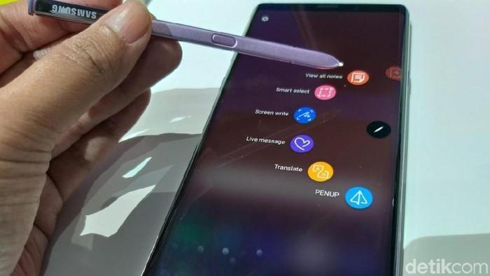 S-pen Galaxy Note 9. (Foto: detikINET/Meliyanti Setyorini)