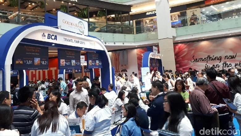 Singapore Airlines-BCA Travel Fair di Jakarta (Kurnia/detikTravel)