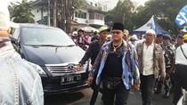 Massa Prabowo Mulai Bubar, Lalin di HOS Corkoaminoto Macet