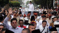 Prabowo-Sandi Ambil Nomor Urut Bareng Pimpinan Partai Koalisi