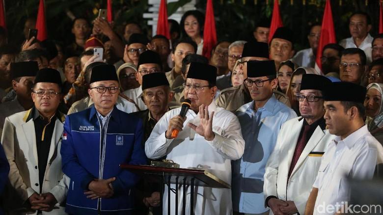Demokrat Resmi Usung Prabowo-Sandi, Tak Hanya Mendukung