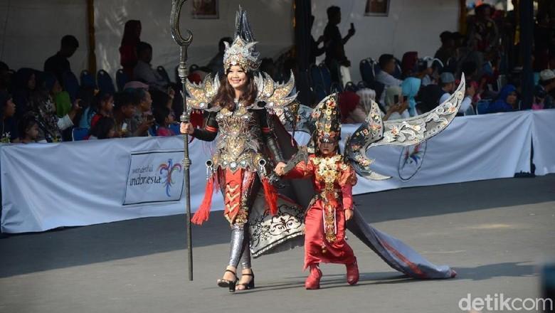 Foto: Anak-anak tampil di Kids Carnival (Yakub/detikTravel)