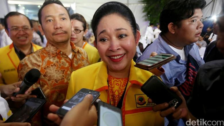 Kampanyekan Prabowo, Titiek: Kami akan Teruskan Program Pak Harto