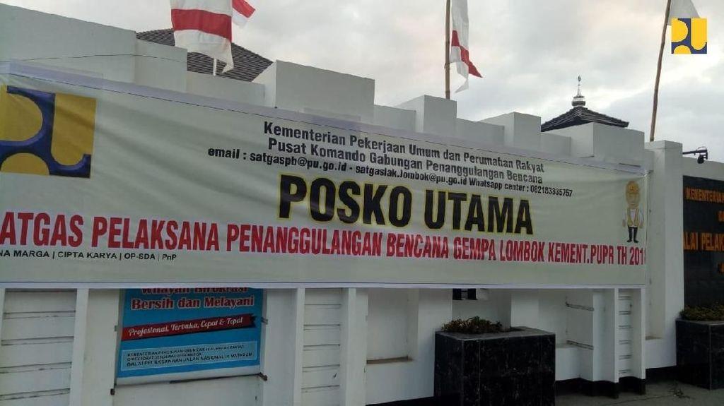 Perbaikan di Lombok Pasca Gempa Dikebut, Ini Penampakannya