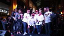 Penampilan Apik Elek Yo Band di Penggalangan Dana Palu-Donggala