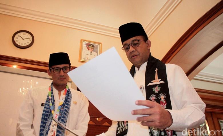 Gerindra-PKS-Anies Rapat Bahas Pengganti Sandiaga Usai Idul Adha