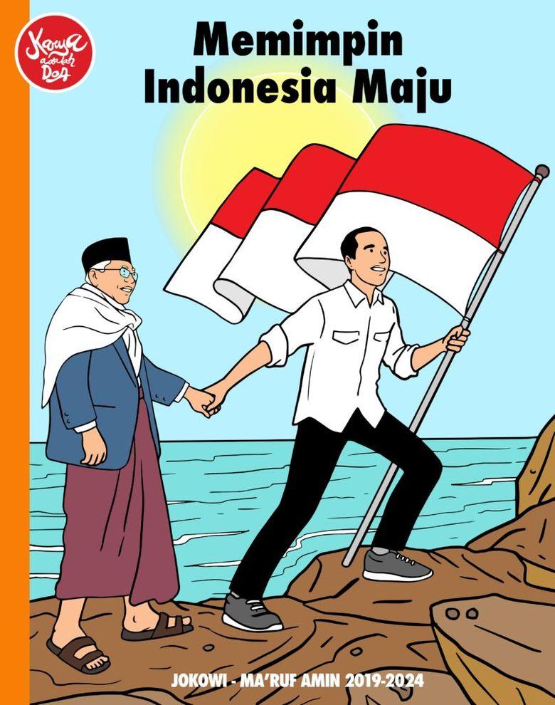 Bersimbolkan Negara Maritim, Hari Prast Bikin Ilustrasi ...