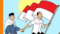 Bersimbolkan Negara Maritim, Hari Prast Bikin Ilustrasi Jokowi - Maruf Amin