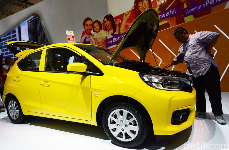 Honda Brio Satya. Foto: Ari Saputra
