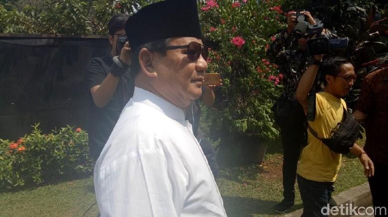 Tinggalkan Kertanegara, Prabowo Kembali Sambangi Rumah SBY