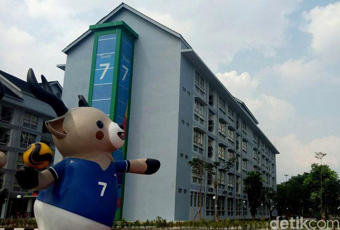 Atlet-atlet dayung Indonesia telah menempati wisma di Palembang yang terdiri dari sembilan tower itu.