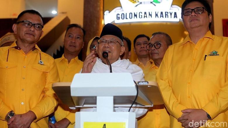Jadi Cawapres Jokowi, Maruf Serahkan soal Posisi Ketum ke MUI