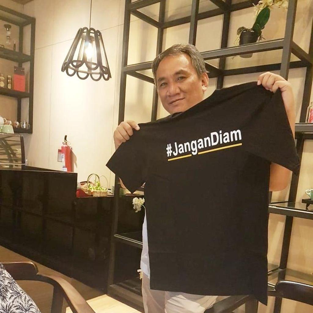 Andi Arief Serang Prabowo dan Surya Paloh: Pragmatis!