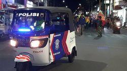 Mengenal Bapake, Bajaj Unik Kendaraan Patroli Polres Cilacap