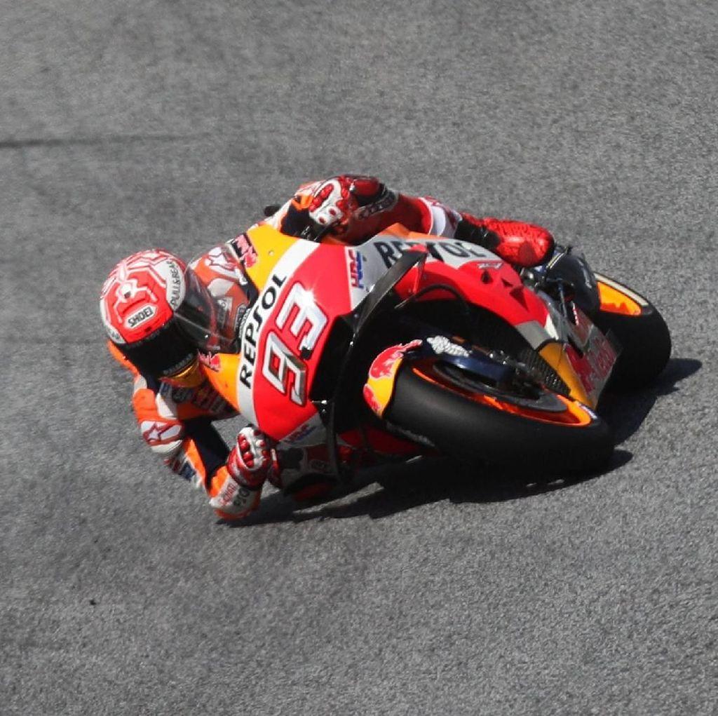 Kualifikasi MotoGP Austria: Kalahkan Tiga Ducati, Marquez Rebut Pole