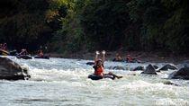 Seru-seruan River Tubing di Ciamis, Ini Tempatnya