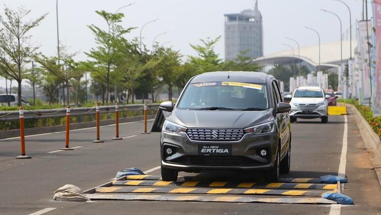 Test Drive Suzuki All New Ertiga di GIIAS 2018 Foto: Dok. Suzuki