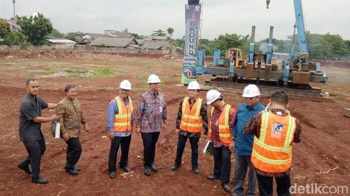 Groundbreaking Hunian DP Rp 0 di Pondok Kelapa-Jaktim/Foto: detikcom/file