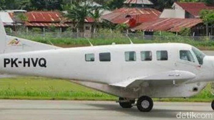 Foto: Pesawat perintis Dimonim Air hilang kontak di Papua. (Istimewa)
