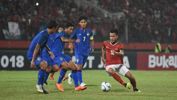Brylian Aldama menjadi salah satu pilar Timnas Indonesia U-16.;