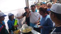 Momen Akrab Susi-Anies di Festival Muara Baru