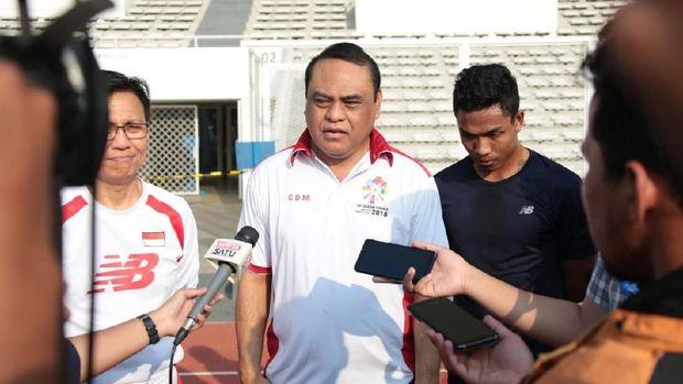 Sjafruddin, CdM kontingen indonesia di Asian Games 2018