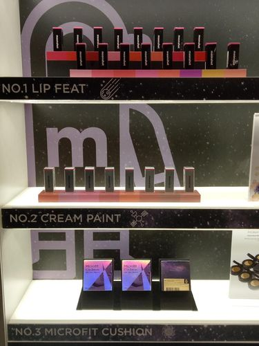 Kosmetik Moonshot dijual di Coco by C&F, Grand Indonesia.