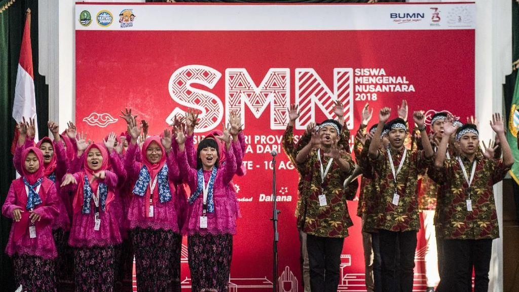 Pelepasan Siswa Mengenal Nusantara BUMN