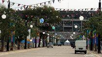 Jelang Asian Games, Kawasan GBK Makin Kece