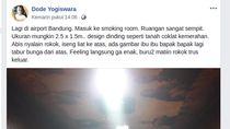 Foto Smoking Room Kuburan di FB Viral, Ini Komentar Pemilik Akun