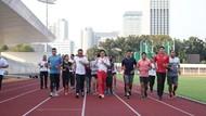 Sambangi Latihan, CdM Harapkan Lima Emas Dari Atletik