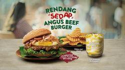 Meriahkan Hari Kemerdekaan Singapura, McDonalds Rilis Burger Rendang