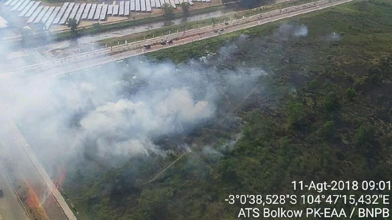 Pembukaan Lahan Jadi Sebab Kebakaran Dekat Apartemen Atlet Palembang