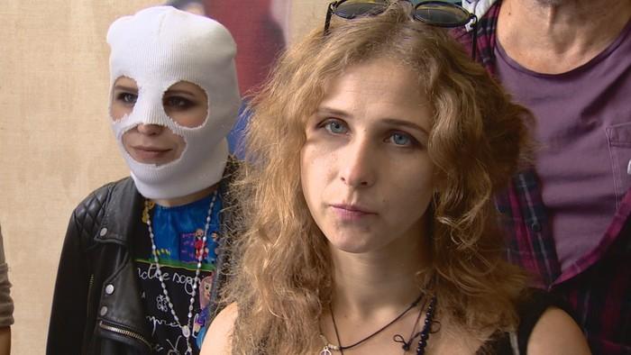 Maria Alyokhina akan menceritakan aksi protes dan pemenjarannya di Edinburgh Fringe Festival (BBC)