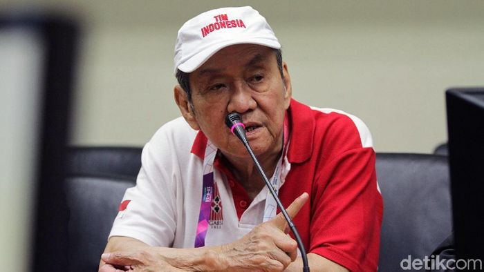 Bambang Hartono, atlet bridge ke Asian Games 2018. (Rifkianto Nugroho/detikSport)