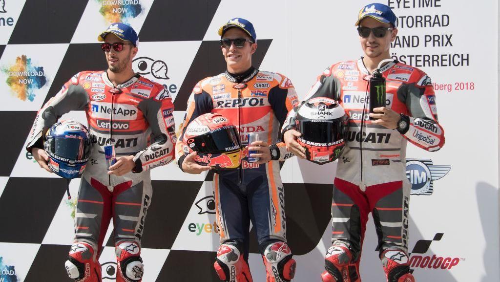Bisa Redam Duo Ducati di Balapan MotoGP Austria, Marquez?