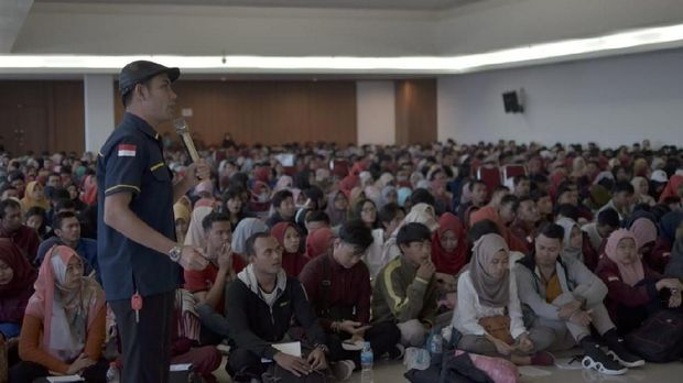 Ada Himapindo, Ribuan Mahasiswa di Bekasi Siap Jadi Pengusaha