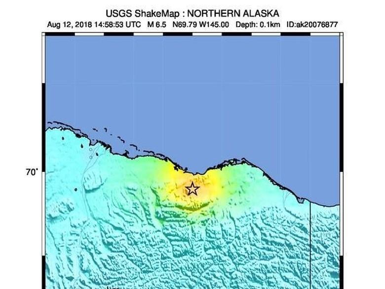 Gempa 6,5 SR Guncang Alaska, Ada Peringatan Tsunami