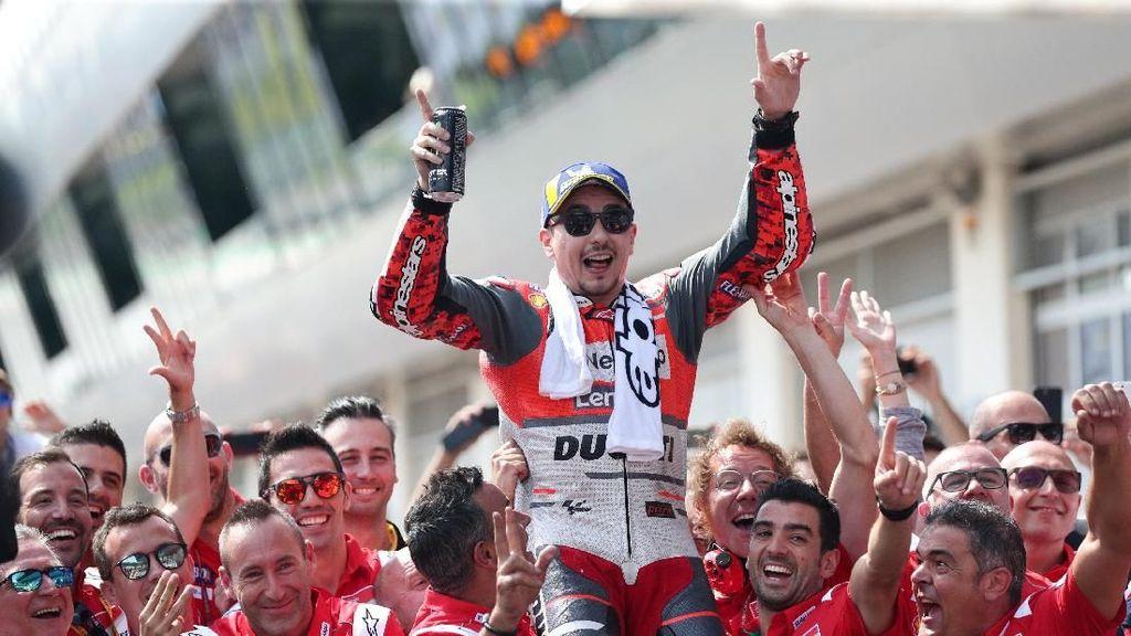 Lorenzo Menangi MotoGP Austria, Ducati: Kami Memberi Pebalap Hebat pada Honda