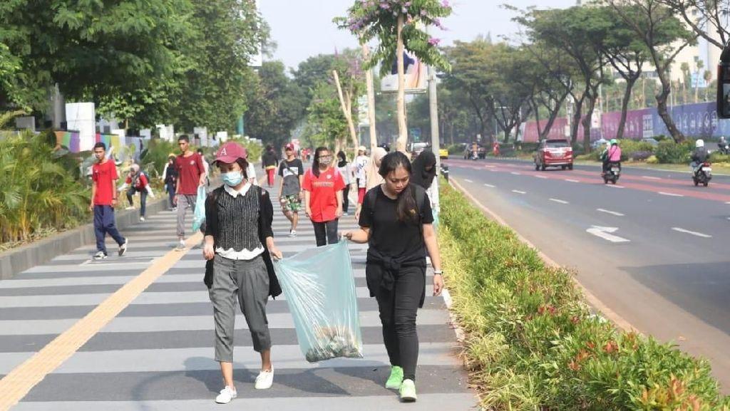 Jelang Asian Games 2018, Kemenpora Ajak 1.000 Anak Muda Bersihkan GBK
