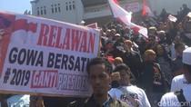 Massa di Makassar Berkumpul Deklarasi #2019gantipresiden
